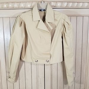 Shein Pale Maze Color Blazer, sz Small